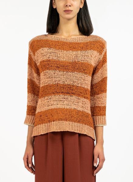 Пуловер с райе