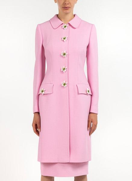 Копринено палто