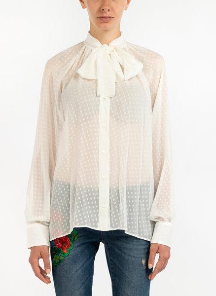 Риза с панделка