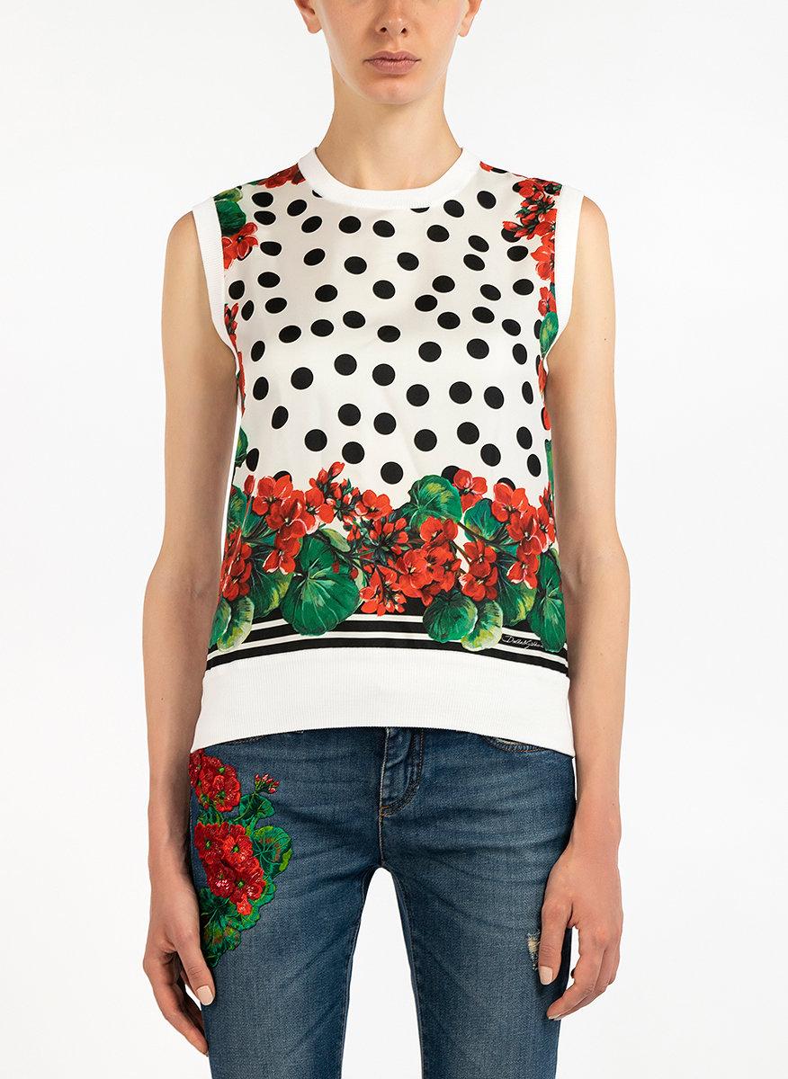 Блуза с флорален принт-Copy