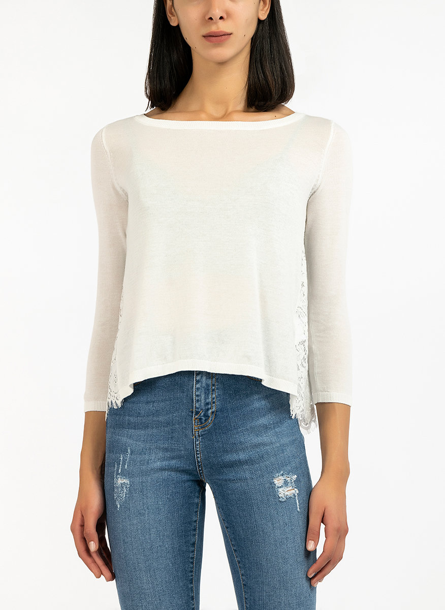 Блуза с дантела-Copy