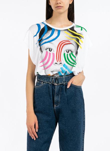 Тениска с фото принт