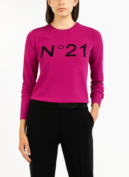 Пуловер с лого