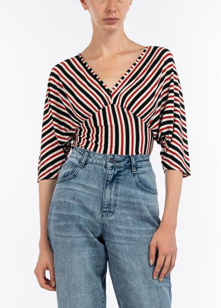 Блуза с принт