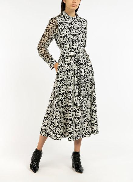Дълга рокля с принт Marella ART.365 Conero