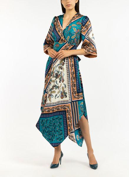 Дълга рокля с цветен десен Marella Ramble