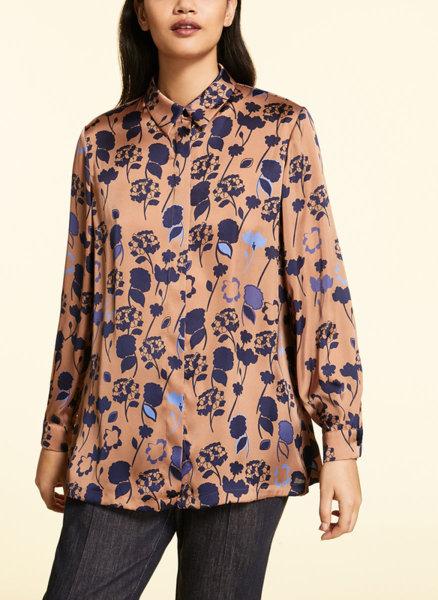 Риза с цялостен принт Marina Rinaldi Barone