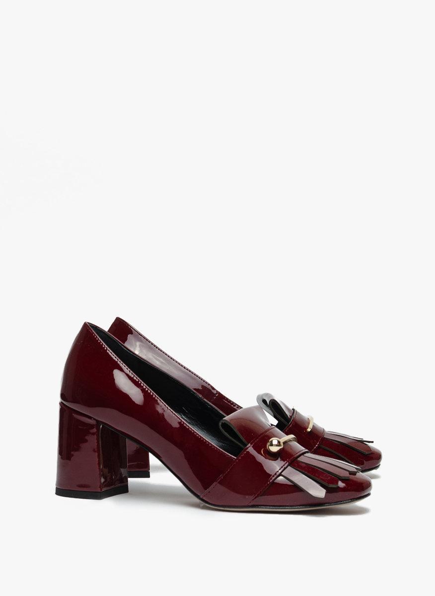 Обувки с квадратен ток Marella Ninive