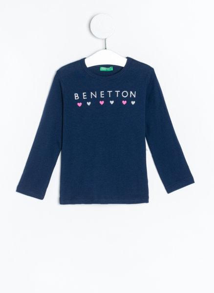 Блуза с апликация Benetton