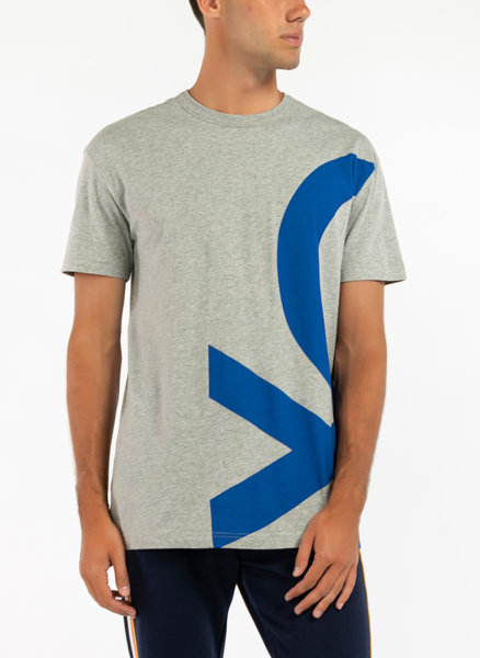 Тениска с лого принт Benetton