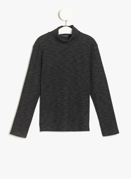 Пуловер с поло яка Sisley Young