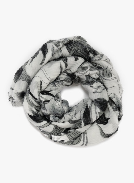 Цветен шал Sisley
