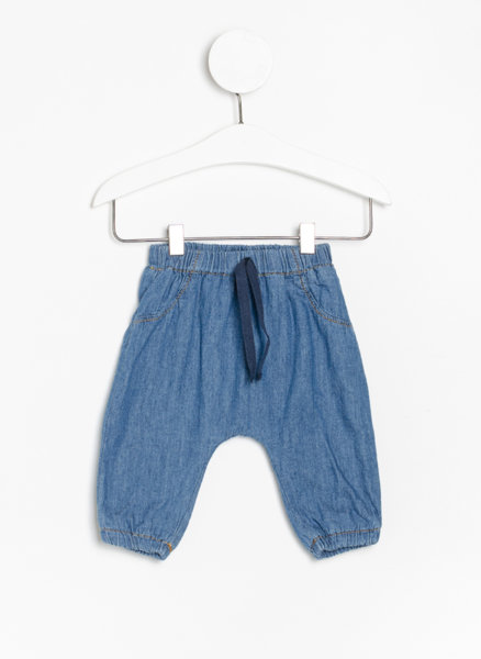 Панталон с деним ефект Benetton