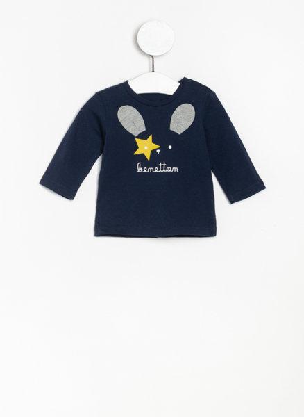 Блуза от органичен памук Benetton