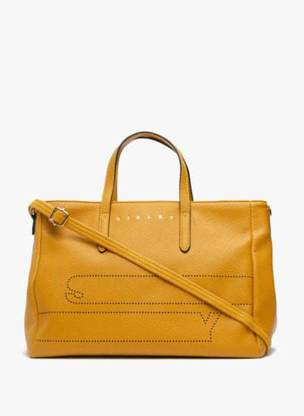 Голяма чанта с лого Sisley