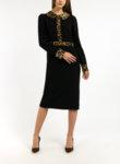 Рокля с леопардов десен Dolce&Gabbana