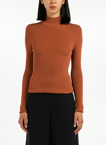 Рибсена блуза с поло яка Pennyblack Ohm