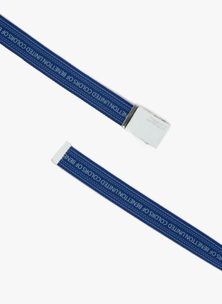 Текстилен колан с лого Benetton