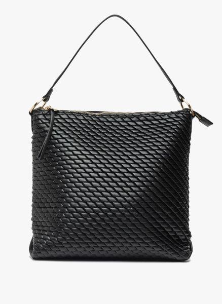 Чанта от релефна кожа Sisley