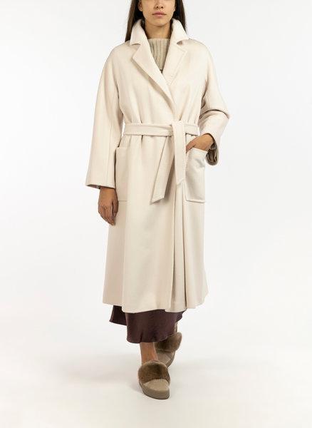 Дълго палто с колан Max Mara Cadine