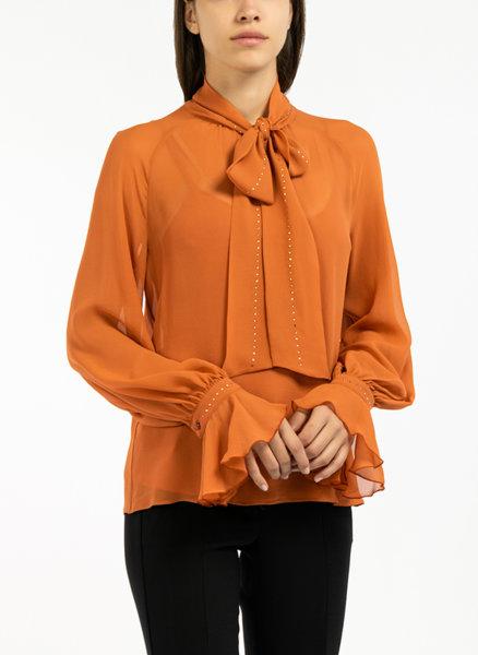 Блуза с панделка Max Mara Eugenio