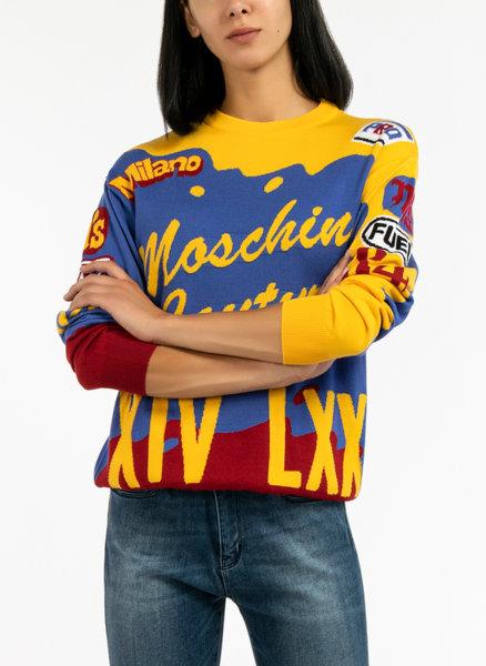 Пуловер Moschino