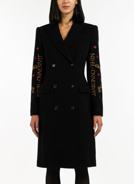 Палто с бродерии Moschino