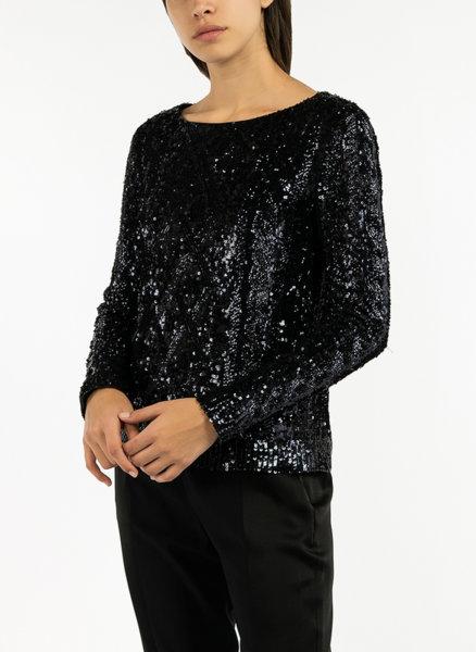 Блуза с пайети Max Mara Cesena