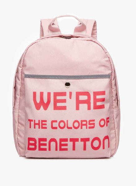 Раница с принт Benetton