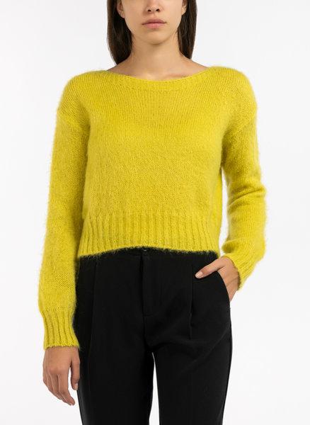Пуловер с мохер Benetton