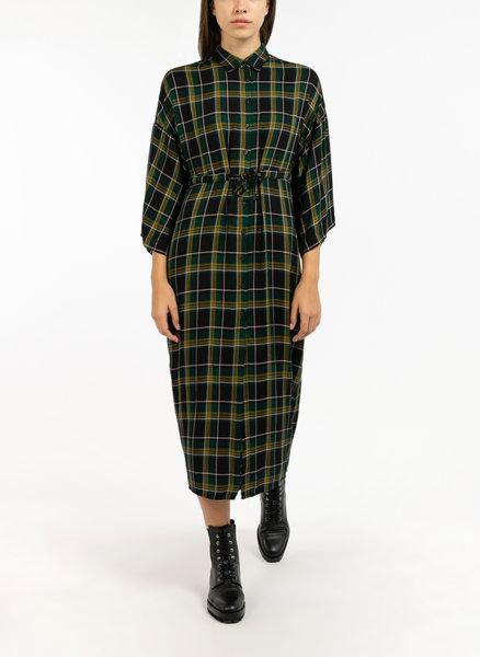 Дълга карирана рокля Sisley