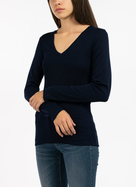 Блуза с V-образно деколте Benetton