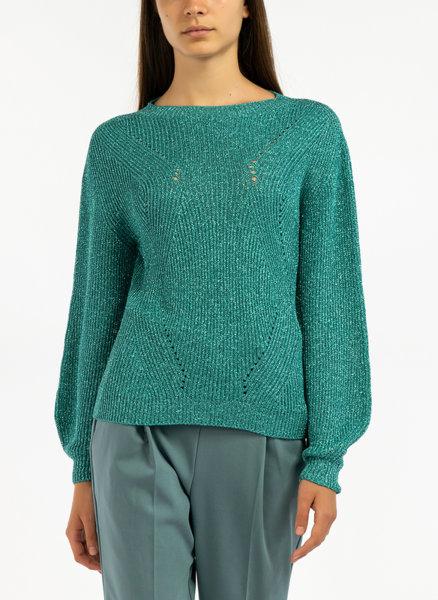 Пуловер с ламе Motivi