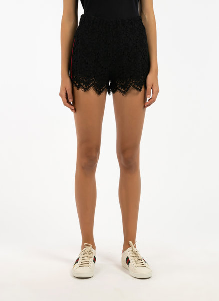 Къси панталони с дантела Gucci