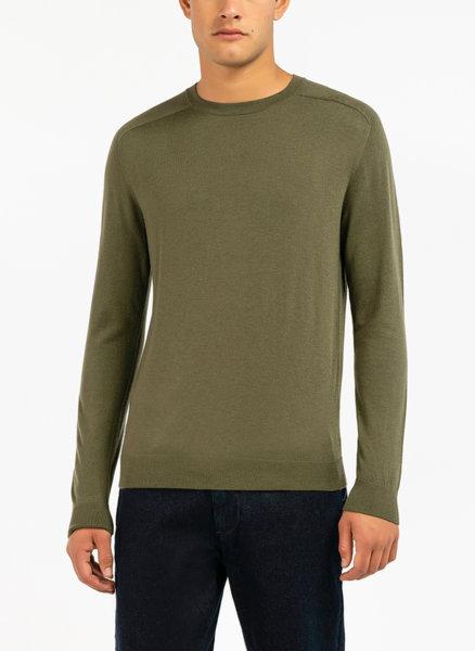 Пуловер с обло деколте Benetton