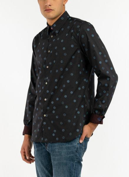 Риза с микро принт Paul Smith