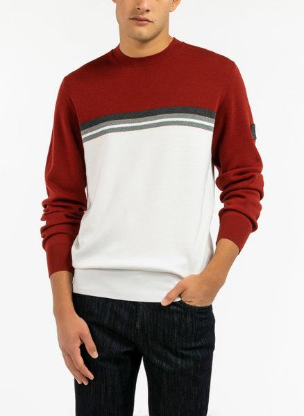 Colour block пуловер Z Zegna