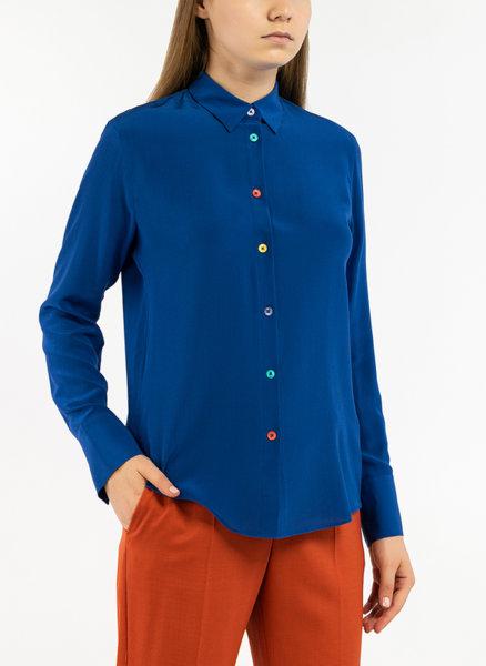 Риза с многоцветни копчета Paul Smith