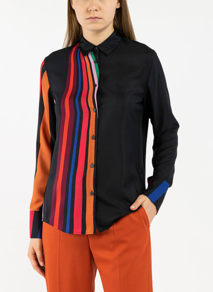Риза с раиран десен Paul Smith