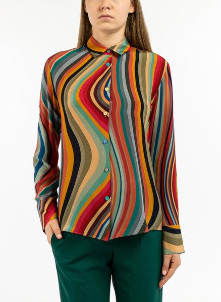 Многоцветна риза Paul Smith