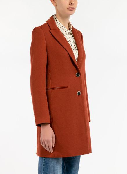 Палто с едноредно закопчаване Motivi