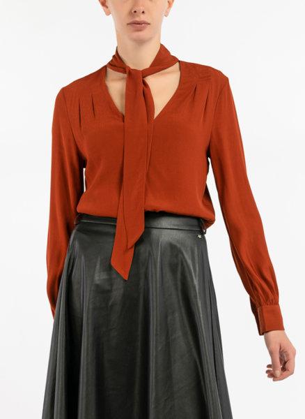 Блуза с детайл панделка Motivi