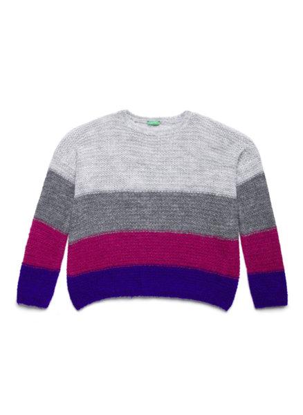 Пуловер на райе Benetton