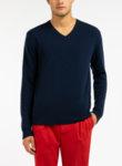 Пуловер с V образно деколте Benetton