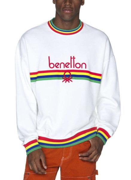 Унисекс суетшърт с лого Benetton