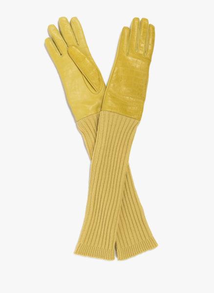 Кожени ръкавици Max Mara Lanci