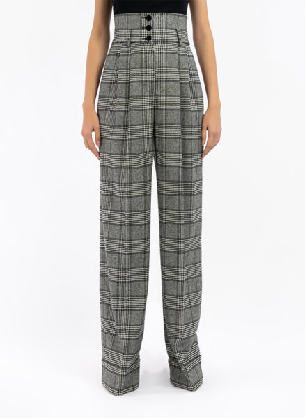 Кариран панталон Dolce&Gabbana