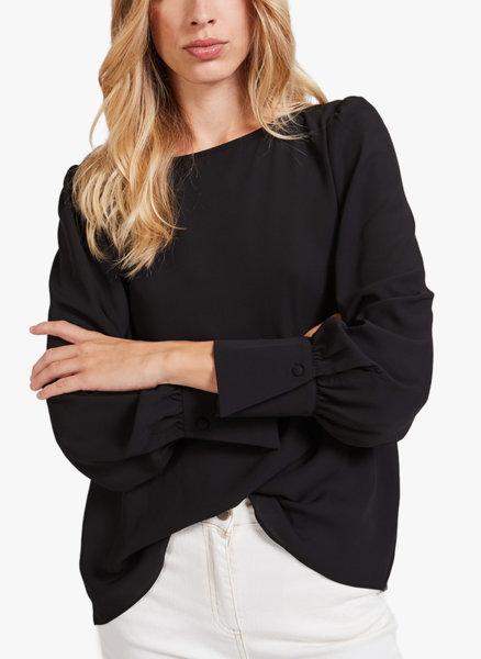 Флуидна блуза с жоржет Motivi
