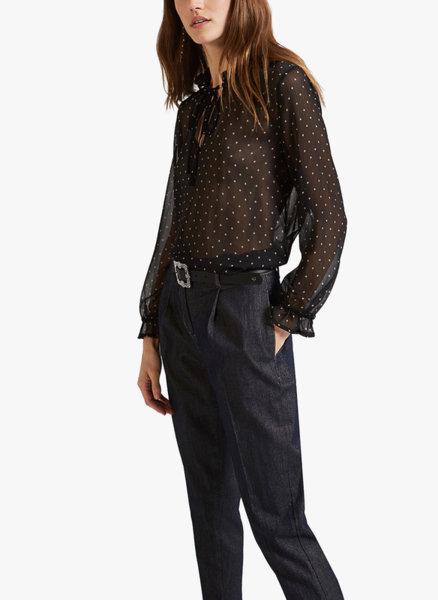 Блуза с микро принт Motivi