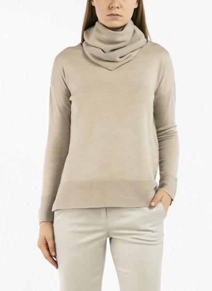 Пуловер с подвижна яка Marella Sport Dentice